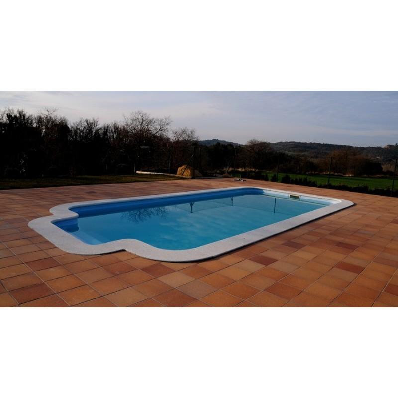 Piscina de fibra poli ster par s piscina europa - Piscinas de poliester ...