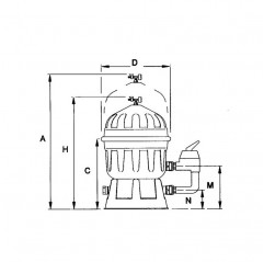 Filtro Clarity de diatomeas AstralPool depuradora piscina