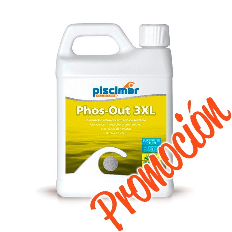 Promoción eliminador fosfatos de choque PM-675 PHOS-OUT 3XL de Piscimar