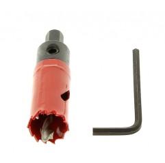 Corona taladro 22 mm para perforado de tubos Zodiac Ei