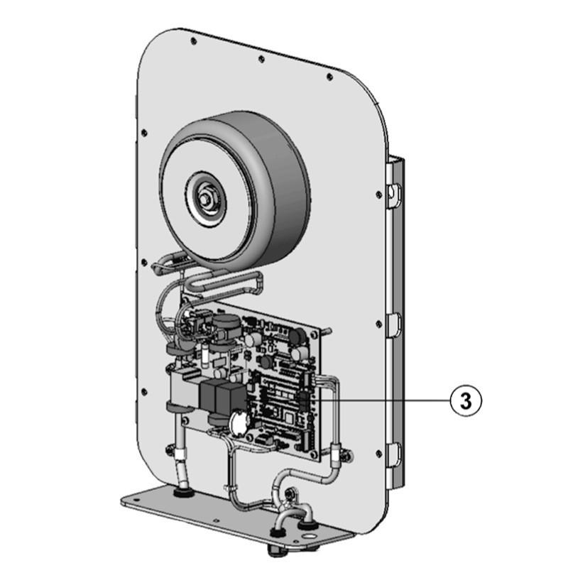 PCB alimentación Ei² Expert (+ pasta térmica & tornillos) Limpiafondos Zodiac Ei² Expert.