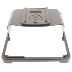 Capó plástico superior con sticker panel de control gris Zodiac TRi