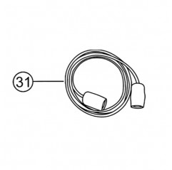 Alargo conector BNC para sondas tipo «Z54» de TRi pH / Tri PRO / pH Link / Dual Link