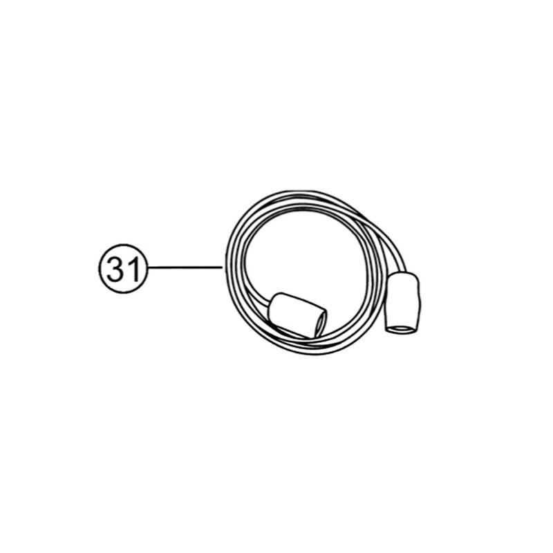 Alargo conector BNC 3m para sondas tipo «Z54» TRi pH / Tri PRO, pH Link y Dual Link