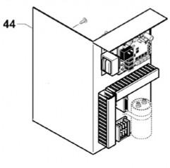 Placa electrónica completa nuevo condensador (desde 2014) bomba de calor Zodiac Z200