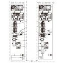 Platina eléctrica PFPREM 11M y Z300 M5 Bomba de calor Zodiac Z300.