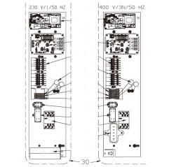 Platina eléctrica PREM 13M y Z300 M7 bomba de calor Zodiac Z300