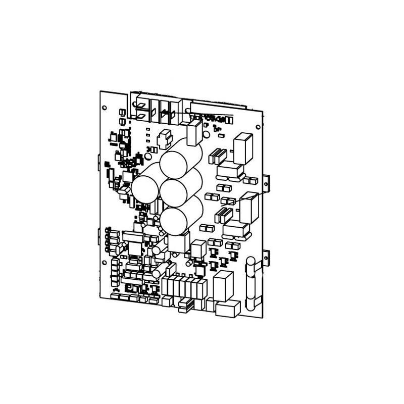 Carta electrónica principal A1 MD5 Bomba de calor Zodiac ZS500.