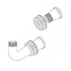 Kit tubería válvula 6 vías 1 1/2'' Filtro Zodiac Boreal