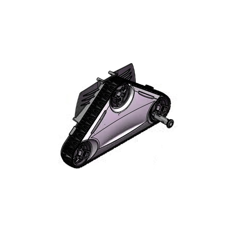 Cassette lado motor tracción CYCLONX RAL9022 Limpiafondos Zodiac RC4300- RC4400