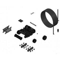 Bloque de tracción completo con motor y cable R0767400 para lmpiafondos Zodiac