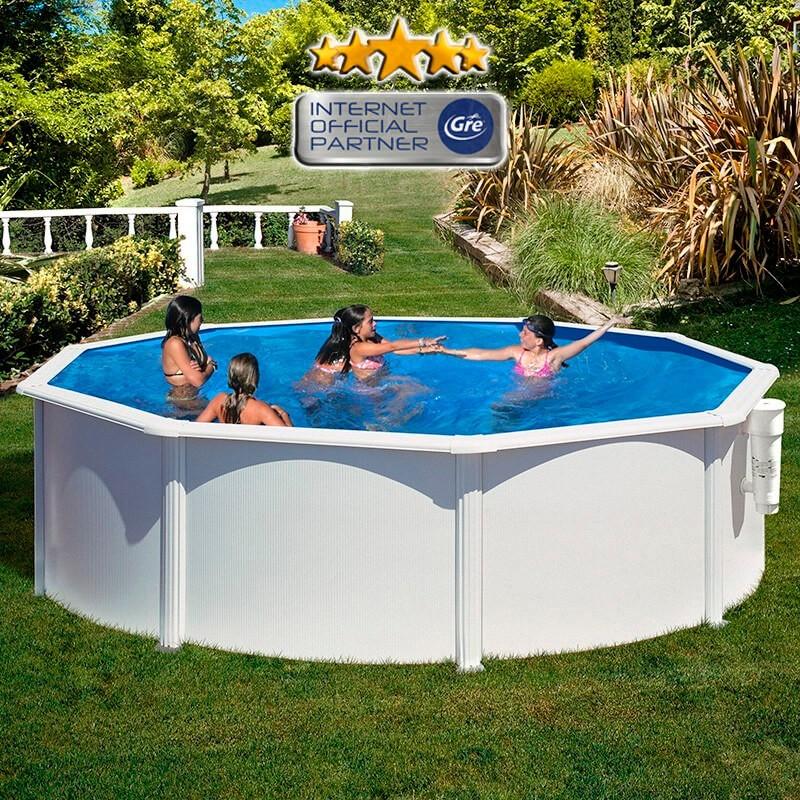 Piscina de acero cool montaje piscina de acero gre with for Montaje piscina bestway