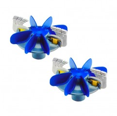 Kit turbina + cepillos (Pack de 2 un.) Limpiafondos Zodiac MX9