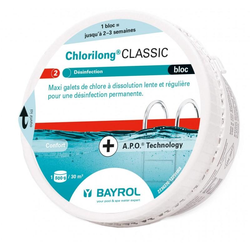 Cloro disolución lenta Chlorilong Bloc 500