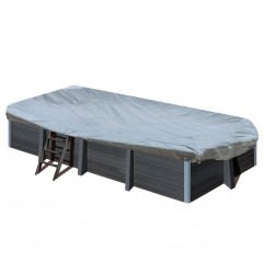 Cubierta de invierno Gre rectangular piscina composite