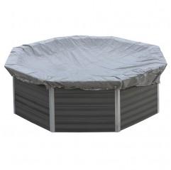 Cubierta de invierno Gre redonda piscina composite