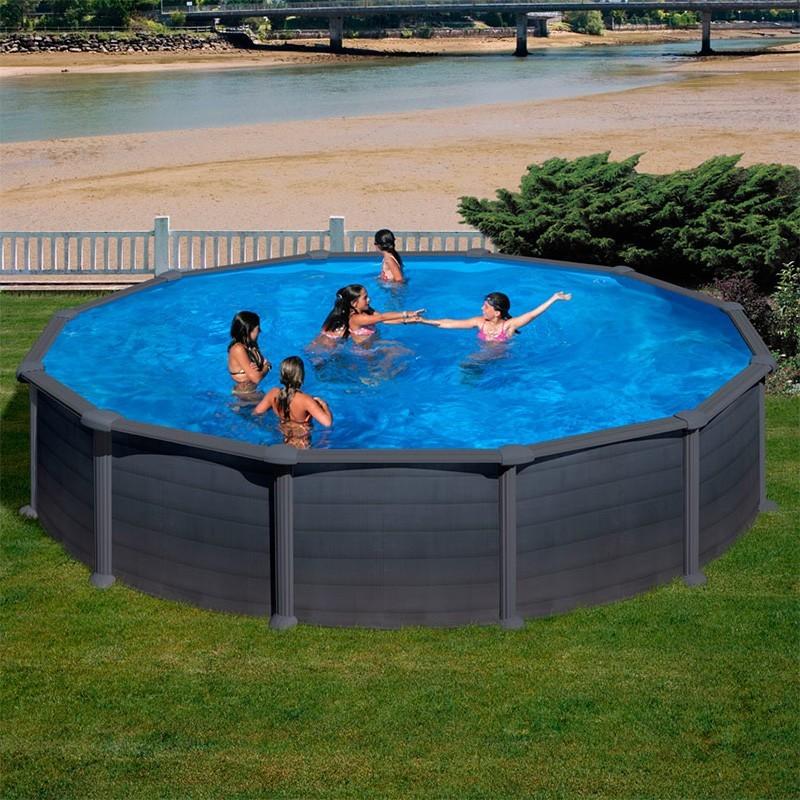 Comprar piscina gre granada redonda en oferta - Recambios piscinas gre desmontables ...