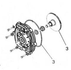 Turbina FHP (+ junta placa trasera) Zodiac FloPro