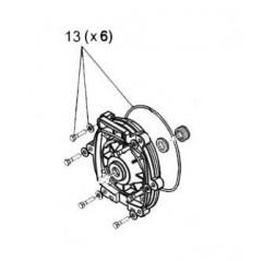 Tornillería motor placa trasera Zodiac FloPro
