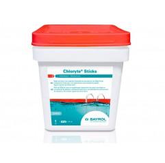 Chloryte sticks pastillas de hipoclorito cálcico no estabilizado de disolución lenta 300 g Bayrol