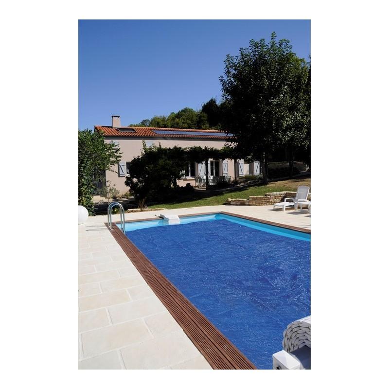 Cubierta isotérmica de verano para piscina enterrada