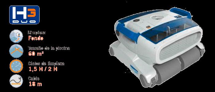 Limpiafondos H3 Duo AstralPool