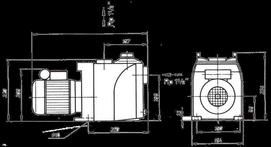 Dimensiones Badu 30