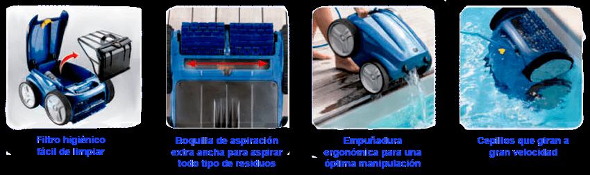 Limpiafondos Automático RV 4400